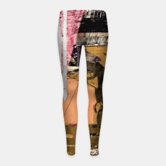 Obstacle course Girl's leggings thumbnail image