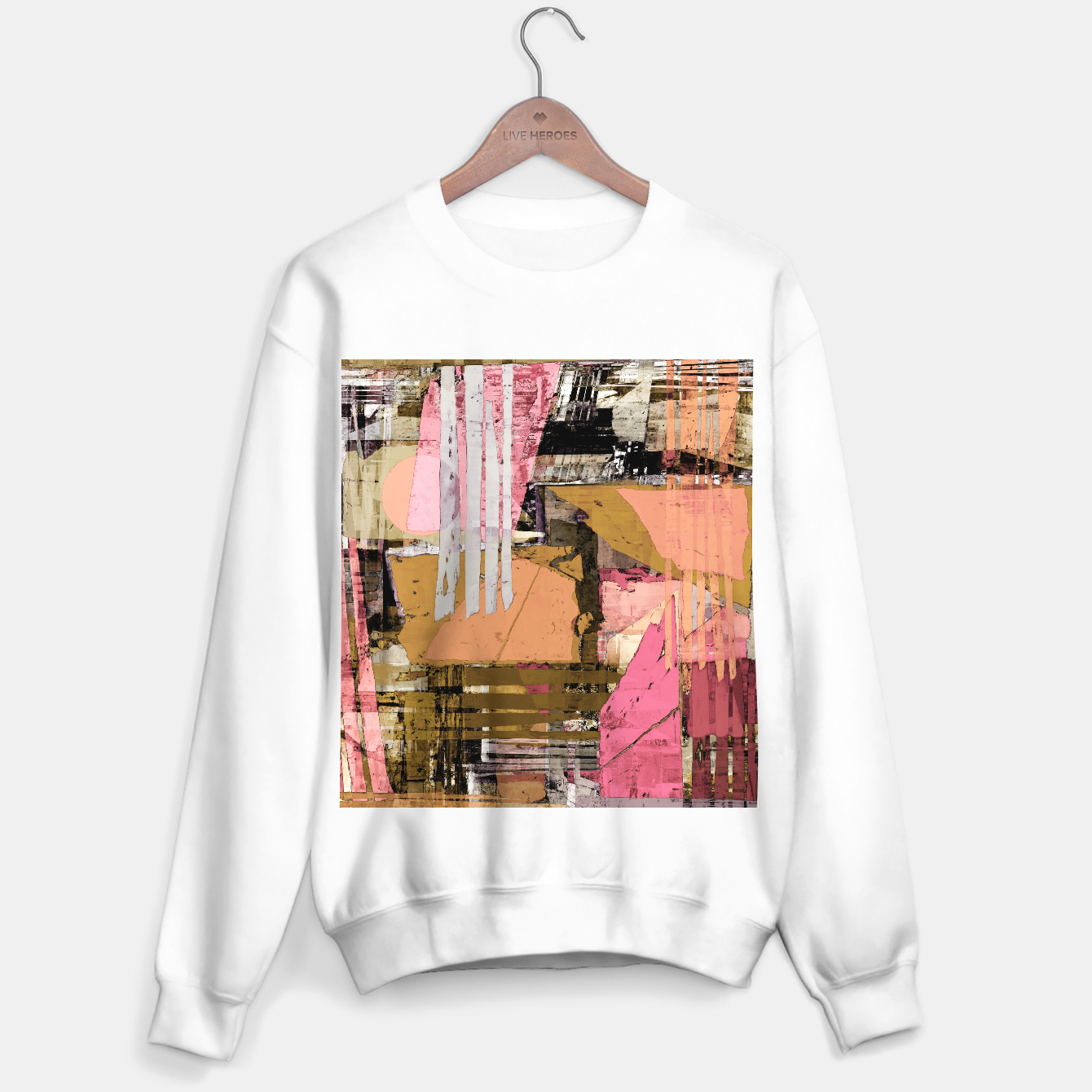 Image of Obstacle course Sweater regular - Live Heroes