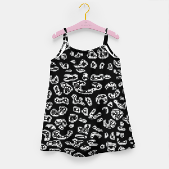 Thumbnail image of Abstact Graphic Girl's dress, Live Heroes
