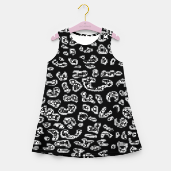 Thumbnail image of Abstact Graphic Girl's summer dress, Live Heroes