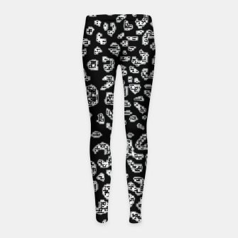 Thumbnail image of Abstact Graphic Girl's leggings, Live Heroes