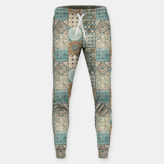 Thumbnail image of Heritage Old Style Moroccan Tiles Sweatpants, Live Heroes