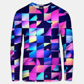 Thumbnail image of Chaos (Geometric Aesthetic Vaporwave) Unisex sweater, Live Heroes