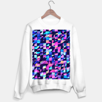 Thumbnail image of Chaos (Geometric Aesthetic Vaporwave) Sweater regular, Live Heroes