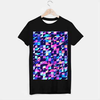 Thumbnail image of Chaos (Geometric Aesthetic Vaporwave) T-shirt regular, Live Heroes