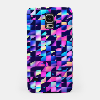 Thumbnail image of Chaos (Geometric Aesthetic Vaporwave) Samsung Case, Live Heroes