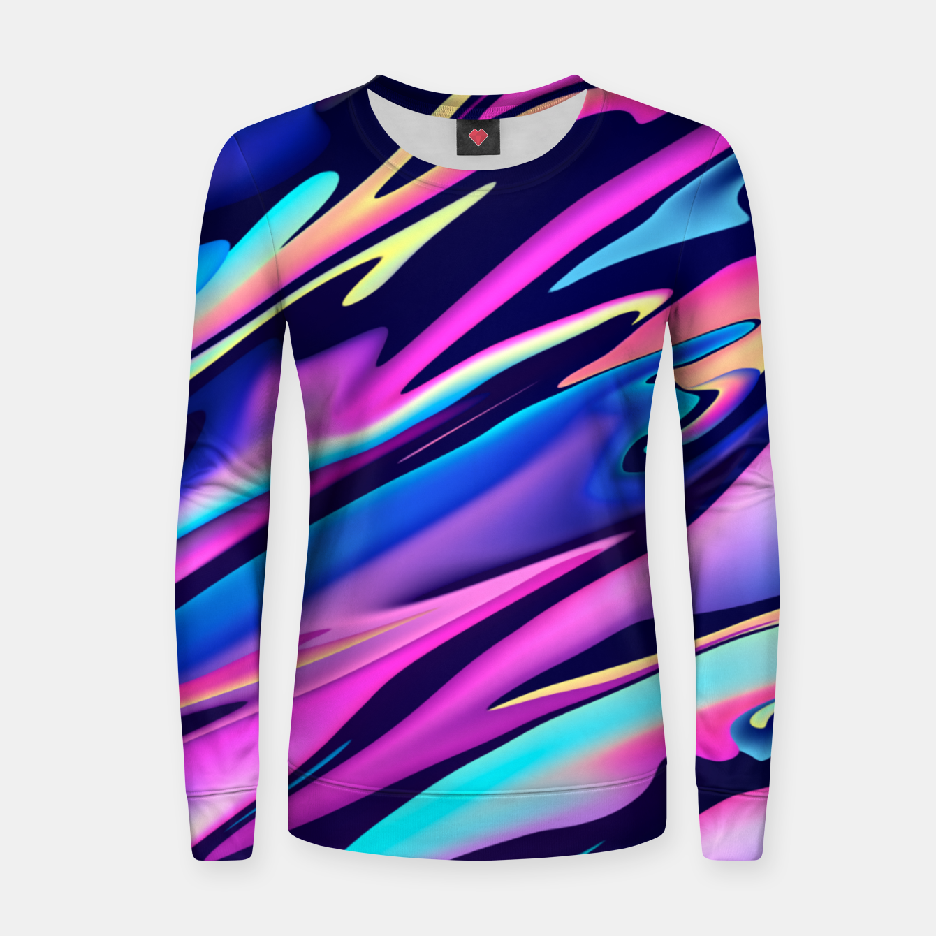 Image of Serenity Aesthetic Vaporwave Women sweater - Live Heroes
