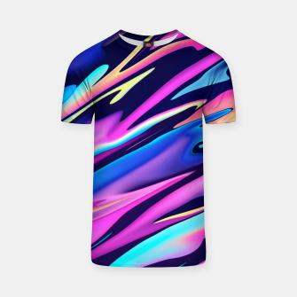 Thumbnail image of Serenity Aesthetic Vaporwave T-shirt, Live Heroes