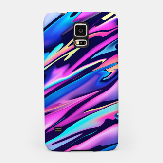 Thumbnail image of Serenity Aesthetic Vaporwave Samsung Case, Live Heroes