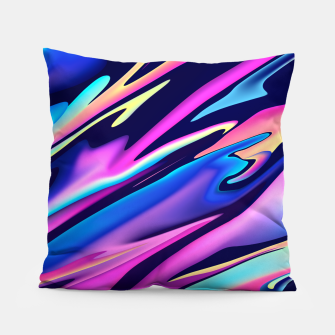 Thumbnail image of Serenity Aesthetic Vaporwave Pillow, Live Heroes