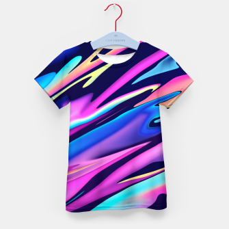 Thumbnail image of Serenity Aesthetic Vaporwave Kid's t-shirt, Live Heroes