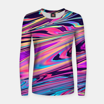 Thumbnail image of Freedom Aesthetic Vaporwave Women sweater, Live Heroes