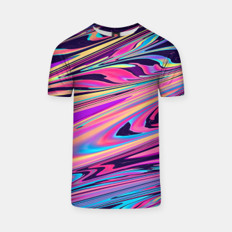 Thumbnail image of Freedom Aesthetic Vaporwave T-shirt, Live Heroes