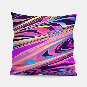Thumbnail image of Freedom Aesthetic Vaporwave Pillow, Live Heroes
