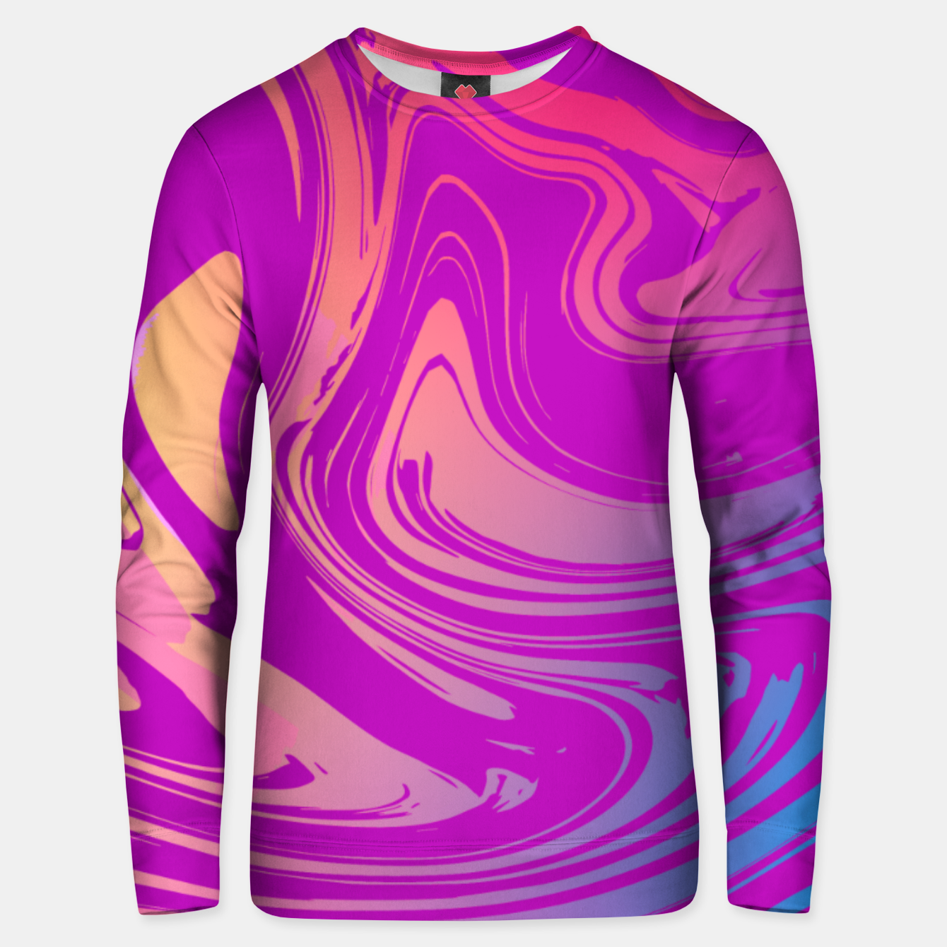 Image of Charm Aesthetic Vaporwave Unisex sweater - Live Heroes