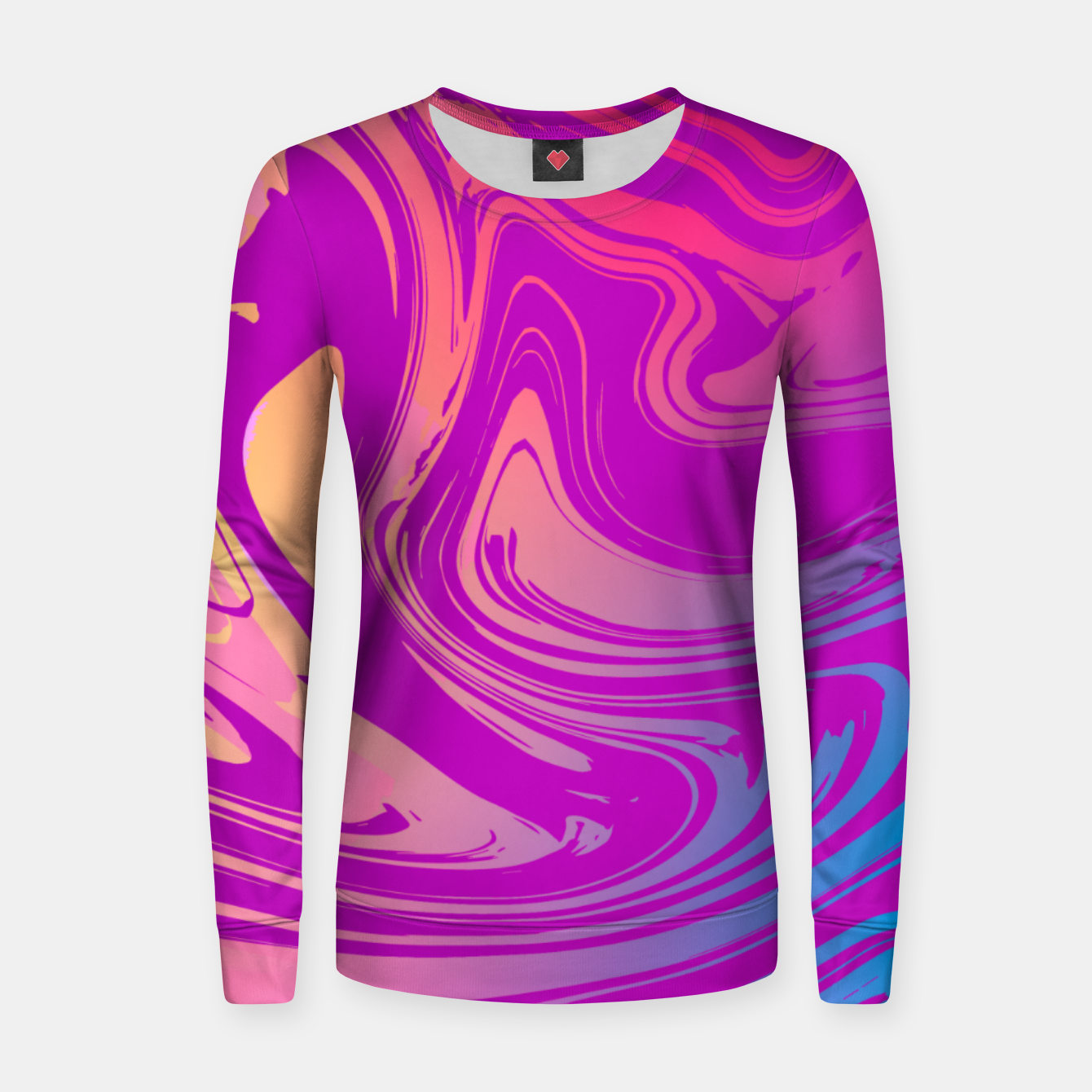 Image of Charm Aesthetic Vaporwave Women sweater - Live Heroes