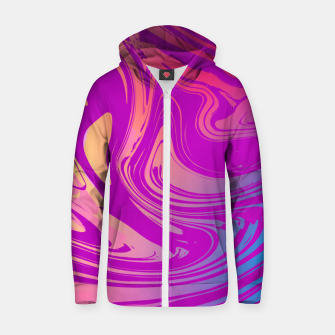 Thumbnail image of Charm Aesthetic Vaporwave Zip up hoodie, Live Heroes