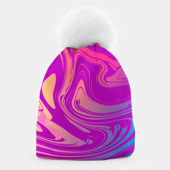 Thumbnail image of Charm Aesthetic Vaporwave Beanie, Live Heroes
