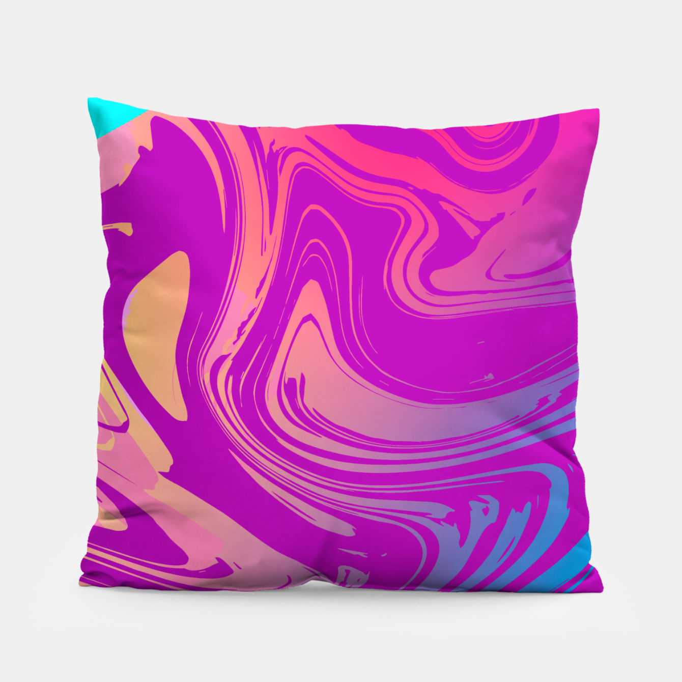 Image of Charm Aesthetic Vaporwave Pillow - Live Heroes