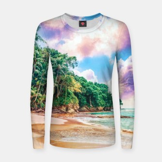 Thumbnail image of Beach Now Women sweater, Live Heroes