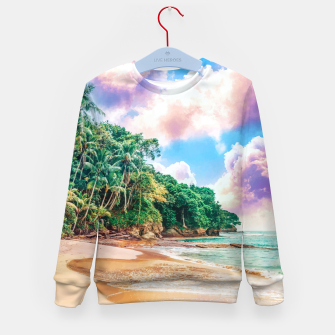 Thumbnail image of Beach Now Kid's sweater, Live Heroes