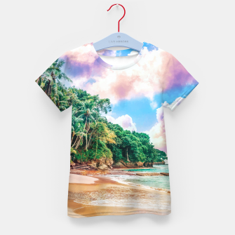 Thumbnail image of Beach Now Kid's t-shirt, Live Heroes