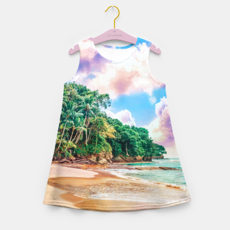 Thumbnail image of Beach Now Girl's summer dress, Live Heroes
