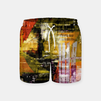 Thumbnail image of Mesh Swim Shorts, Live Heroes
