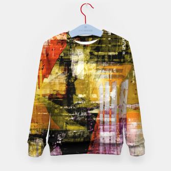 Thumbnail image of Mesh Kid's sweater, Live Heroes