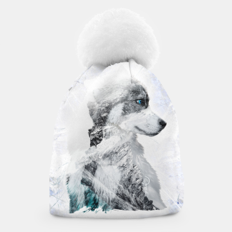 Thumbnail image of Nordic Dog with Double Exposure Mütze, Live Heroes