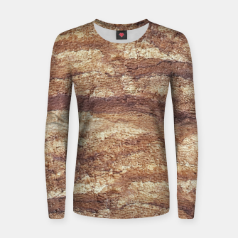 Thumbnail image of Grunge Surface Abstract Print Women sweater, Live Heroes