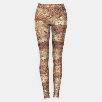 Thumbnail image of Grunge Surface Abstract Print Leggings, Live Heroes