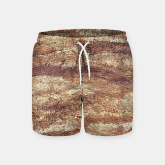 Thumbnail image of Grunge Surface Abstract Print Swim Shorts, Live Heroes