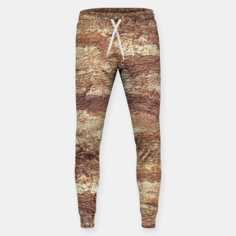 Thumbnail image of Grunge Surface Abstract Print Sweatpants, Live Heroes