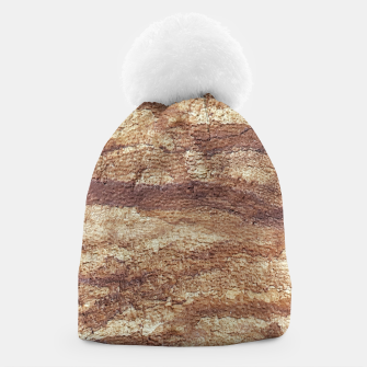 Thumbnail image of Grunge Surface Abstract Print Beanie, Live Heroes