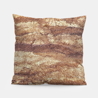 Thumbnail image of Grunge Surface Abstract Print Pillow, Live Heroes
