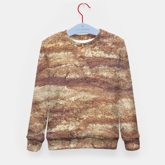 Thumbnail image of Grunge Surface Abstract Print Kid's sweater, Live Heroes