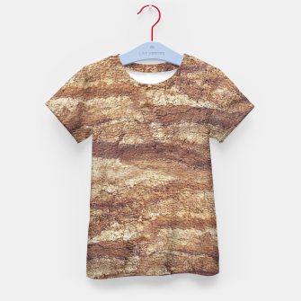 Thumbnail image of Grunge Surface Abstract Print Kid's t-shirt, Live Heroes