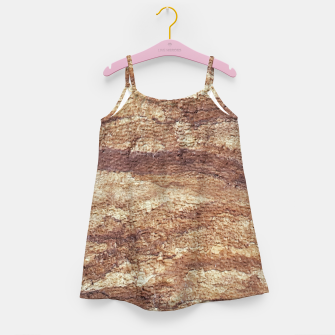 Thumbnail image of Grunge Surface Abstract Print Girl's dress, Live Heroes