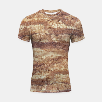 Thumbnail image of Grunge Surface Abstract Print Shortsleeve rashguard, Live Heroes