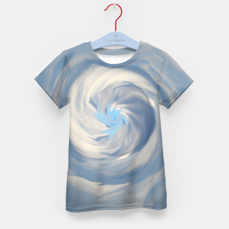 Thumbnail image of Cloud Sky Cloudy T-Shirt für kinder, Live Heroes