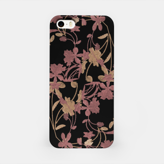 Thumbnail image of Dark Floral Ornate Print iPhone Case, Live Heroes