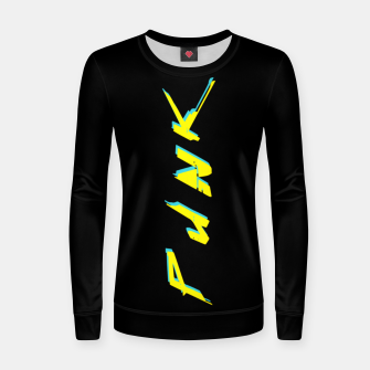 Thumbnail image of cyberpunk Women sweater, Live Heroes