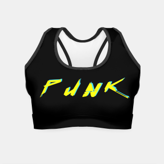 Thumbnail image of cyberpunk Crop Top, Live Heroes