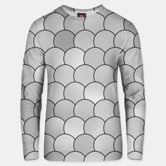 Thumbnail image of Blobs Pattern bw Unisex sweater, Live Heroes