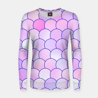 Blobs Pattern lp Women sweater thumbnail image
