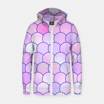Blobs Pattern lp Zip up hoodie miniature