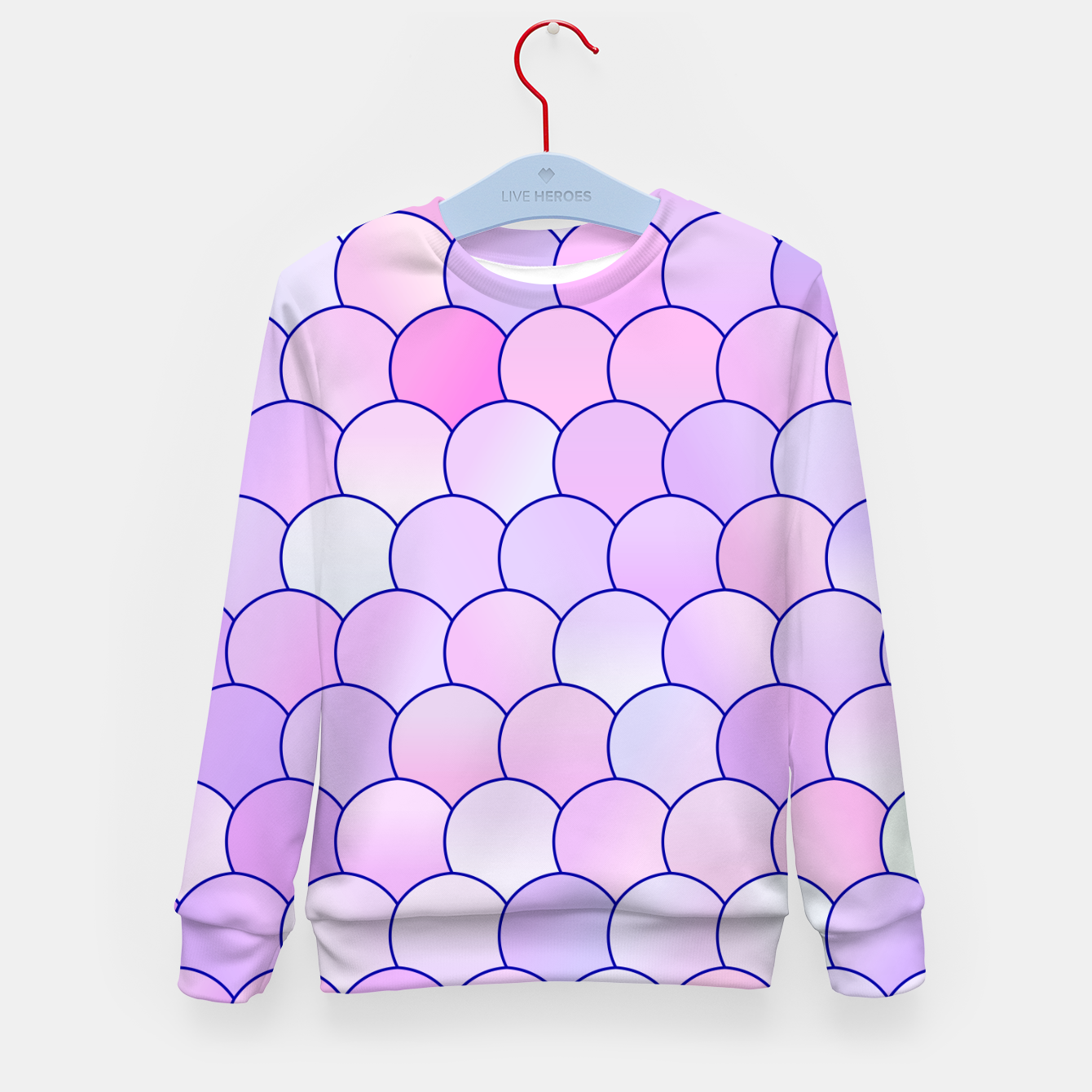 Image of Blobs Pattern lp Kid's sweater - Live Heroes