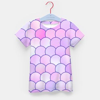 Blobs Pattern lp Kid's t-shirt thumbnail image