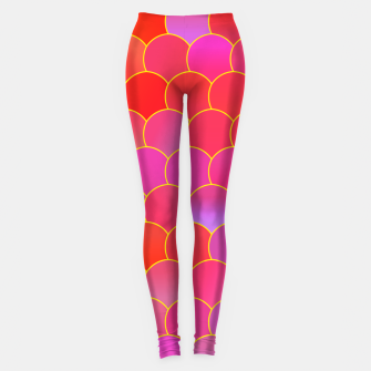 Blobs Pattern ypr Leggings miniature